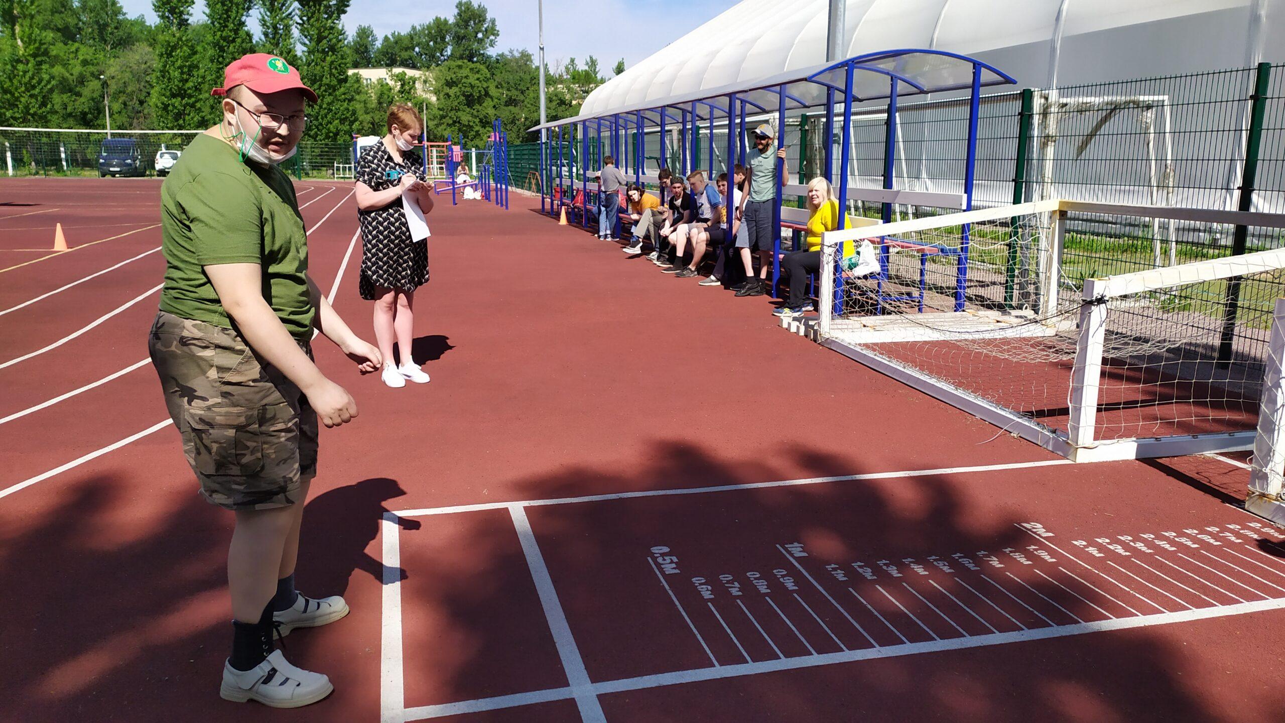 Спортивное мероприятие, посвященное Дню независимости России «Легкая атлетика- королева спорта»