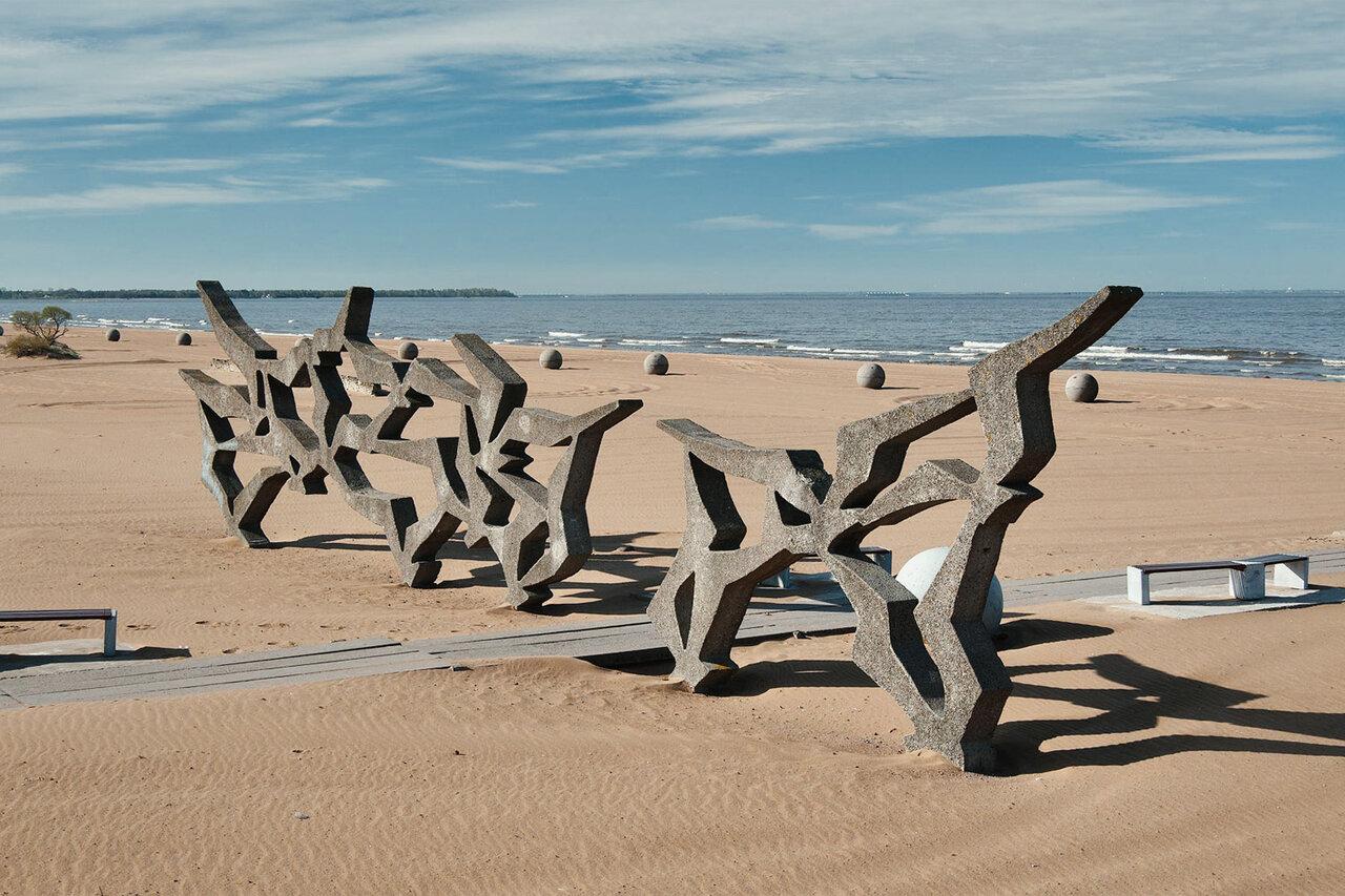Прогулка по берегу Финского залива